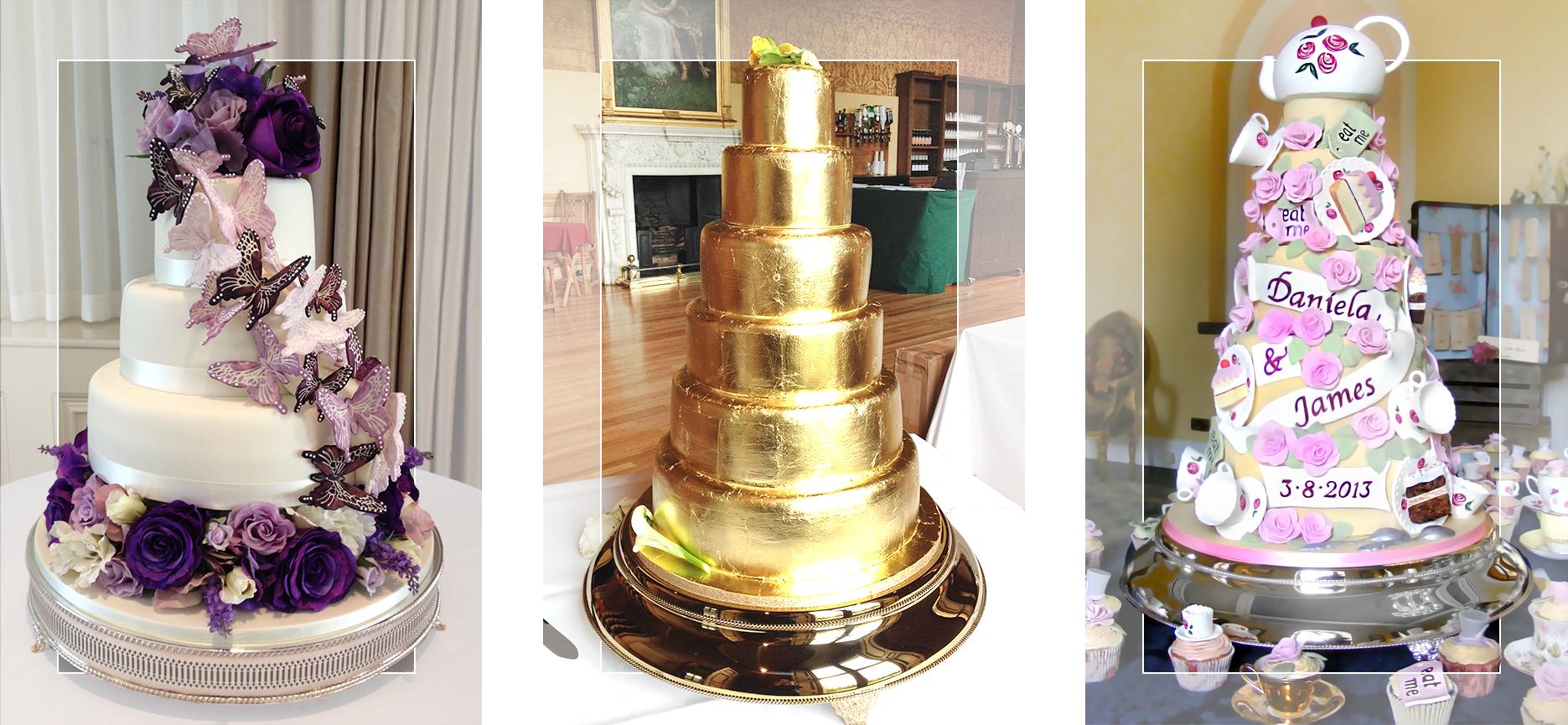 Handmade Bespoke Wedding Cakes And Wonderful Party Cakes