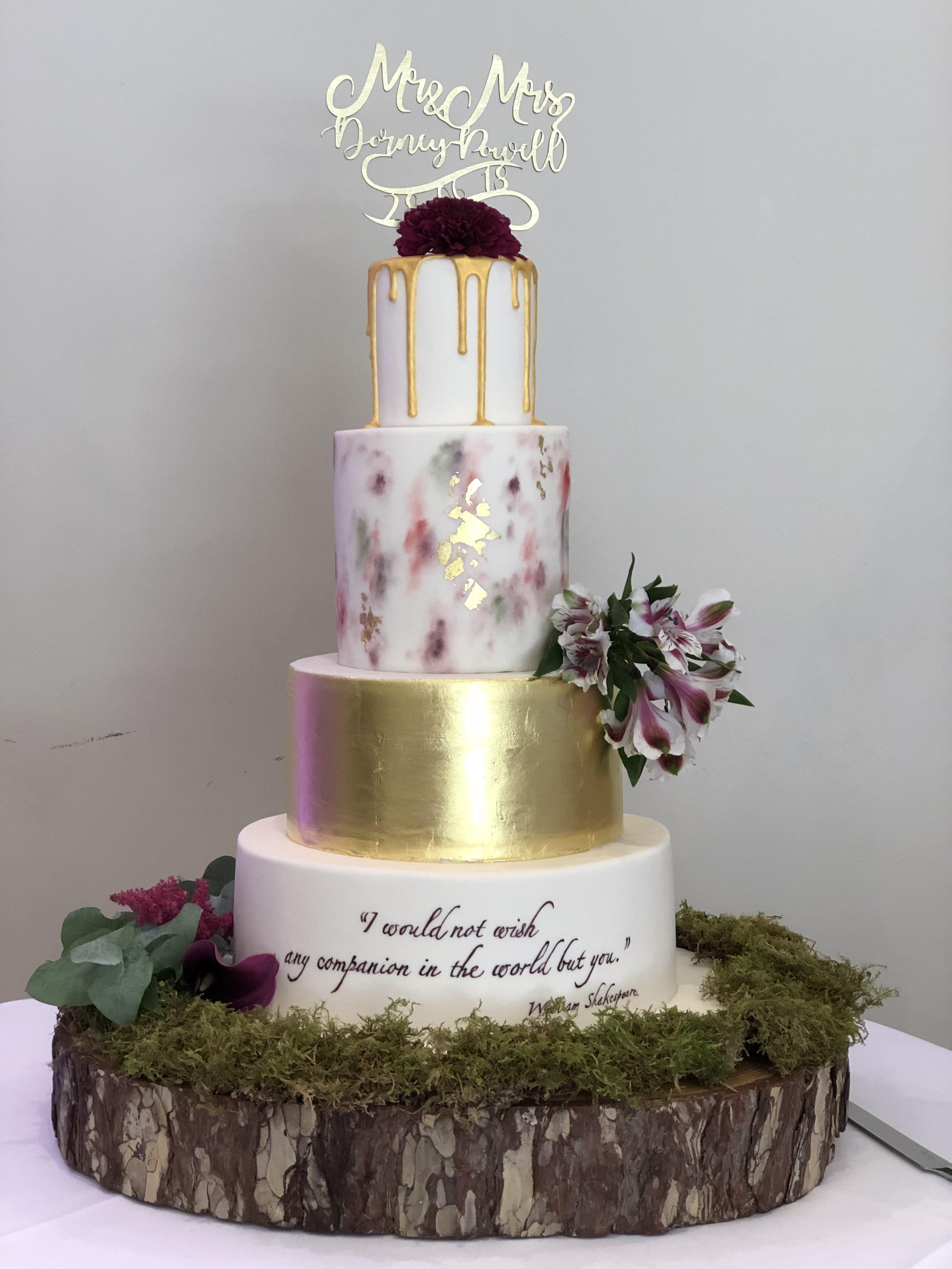 Any Companion Wedding Cake