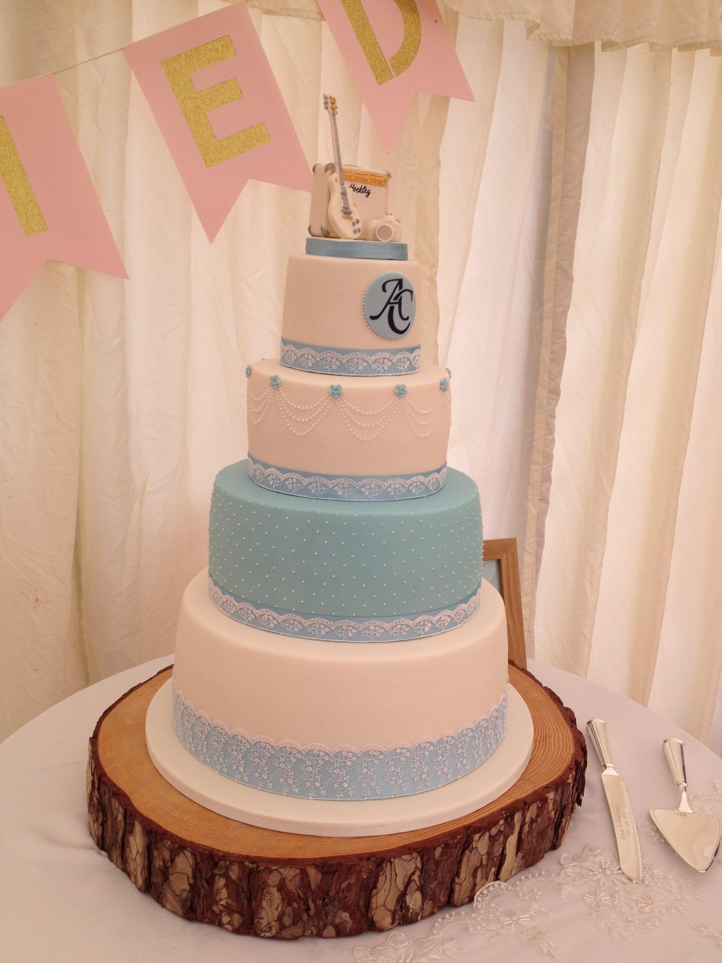 Camera and Amp Wedding Cake 1