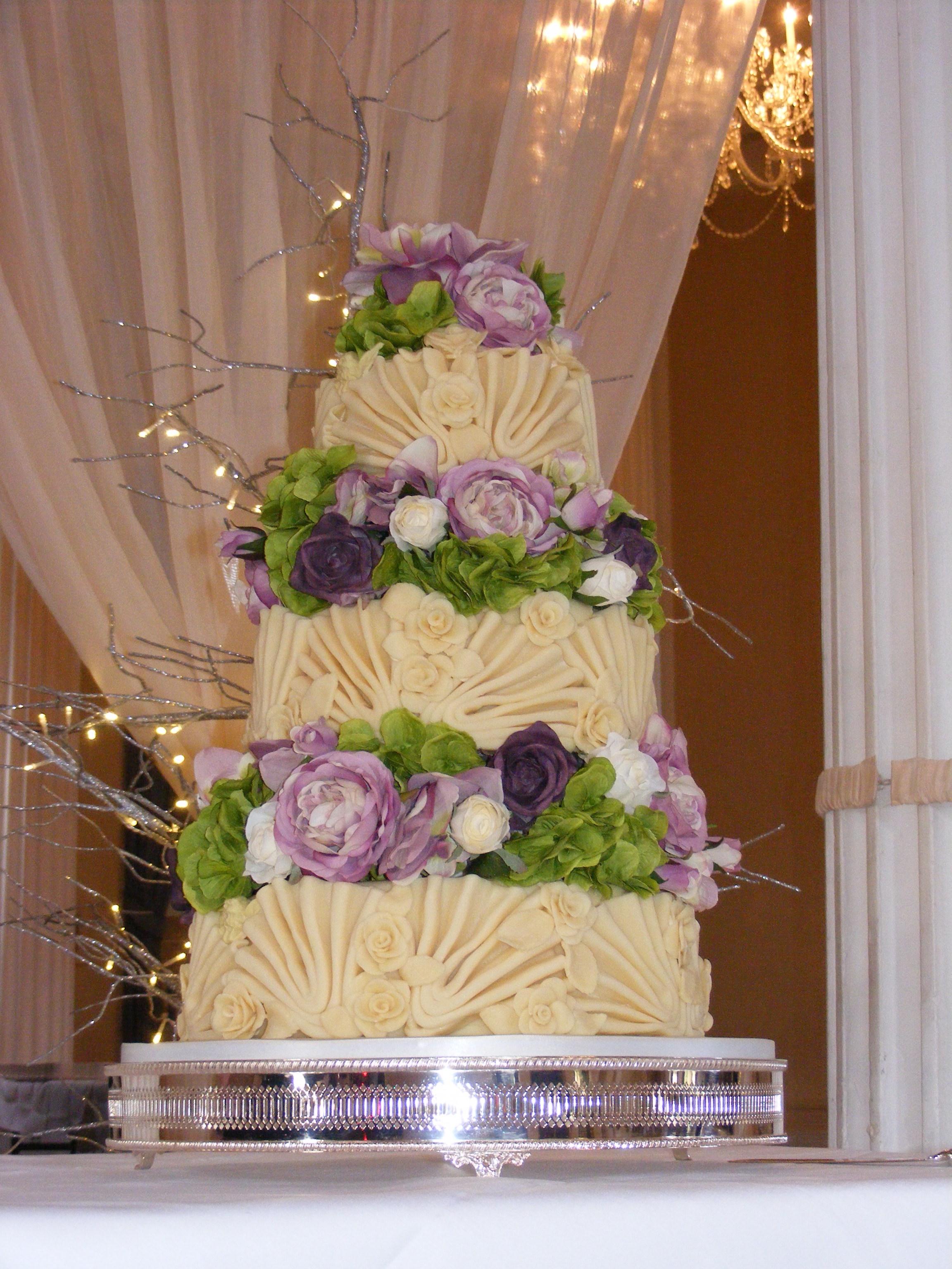 Choc Fantasia Wedding Cake