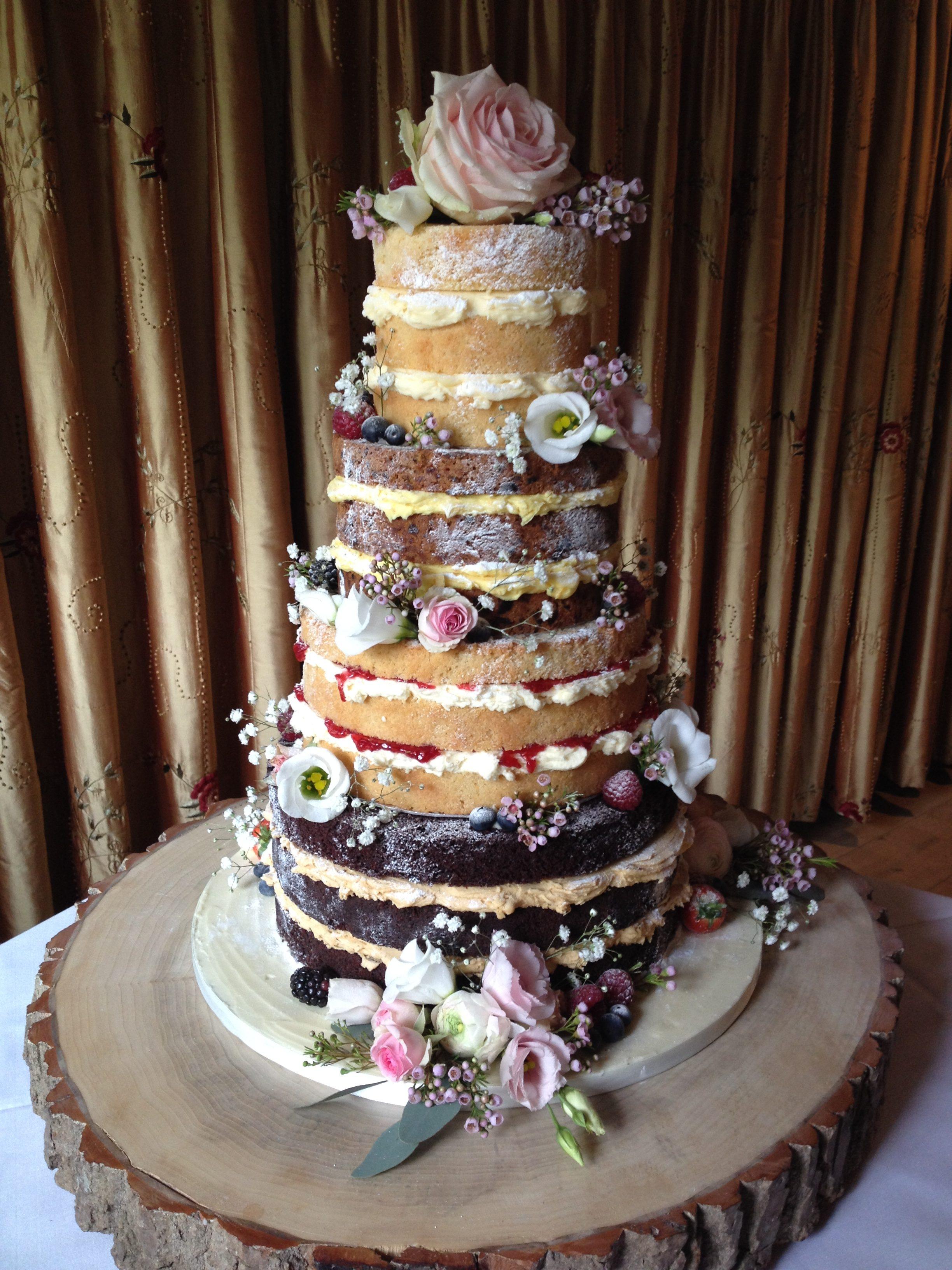 Egypt Mill Naked Cake