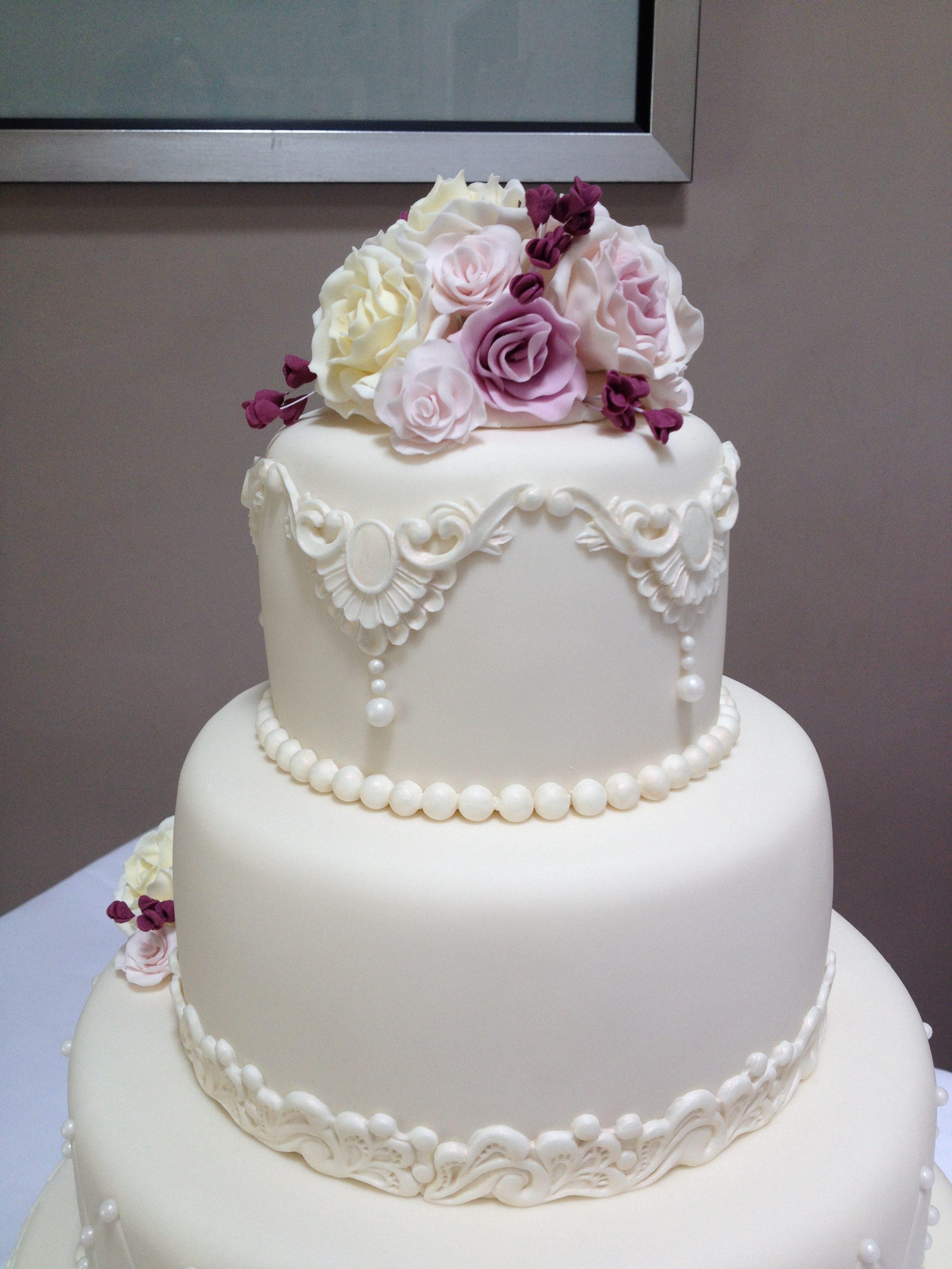 Ivory Belle Wedding Cake