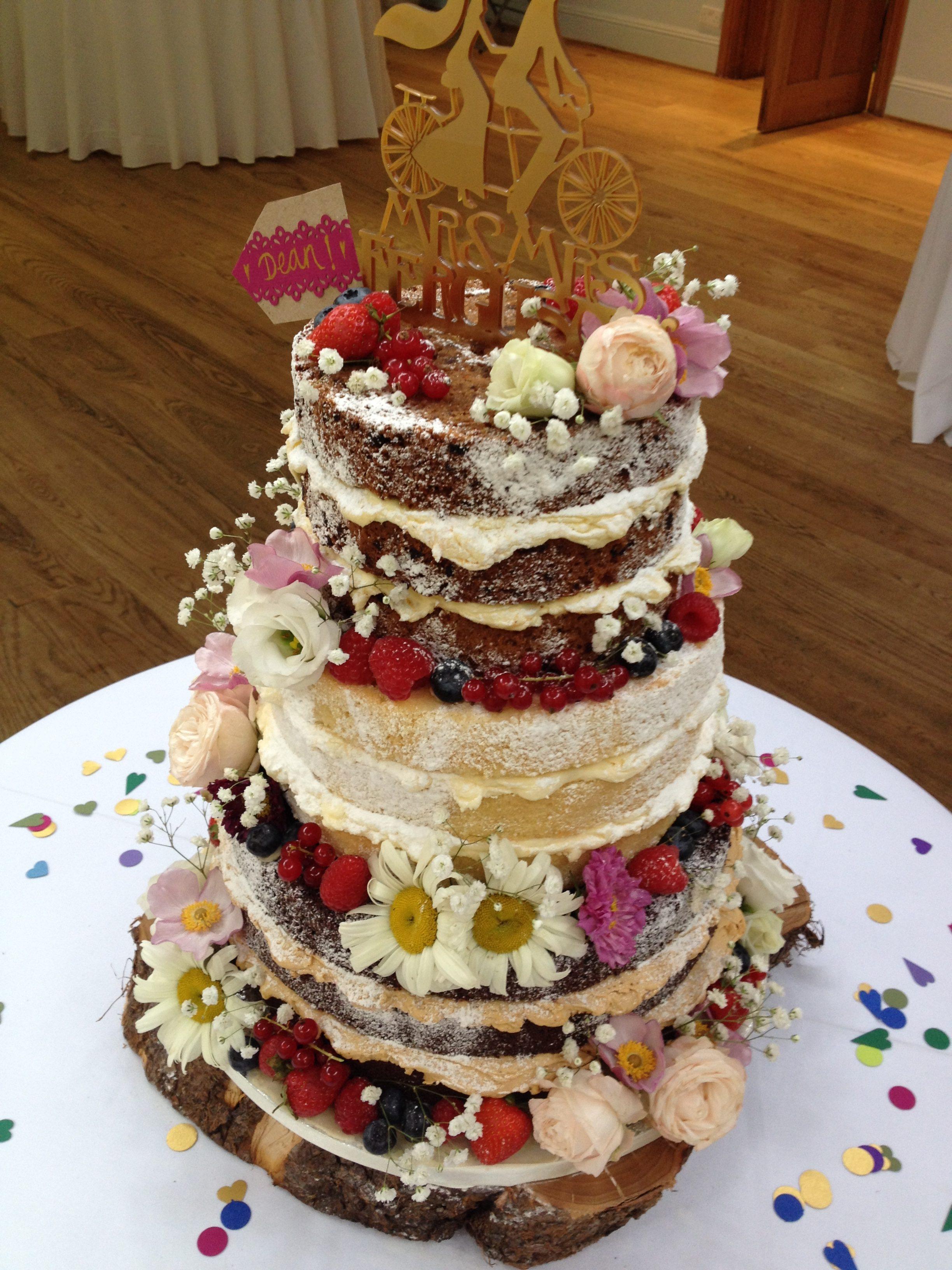 Matara Naked Cake