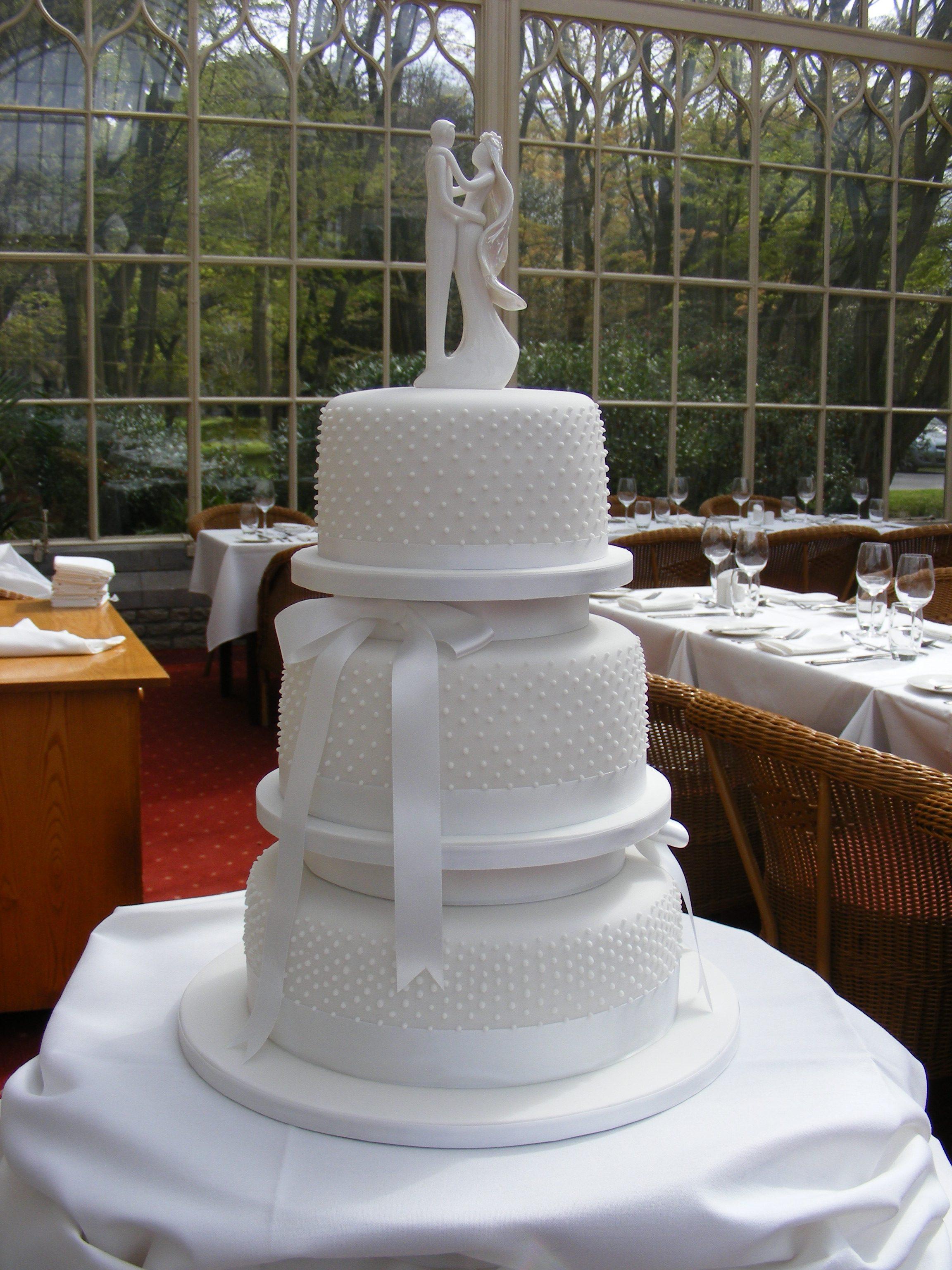 Pear Perfection Wedding Cake 1