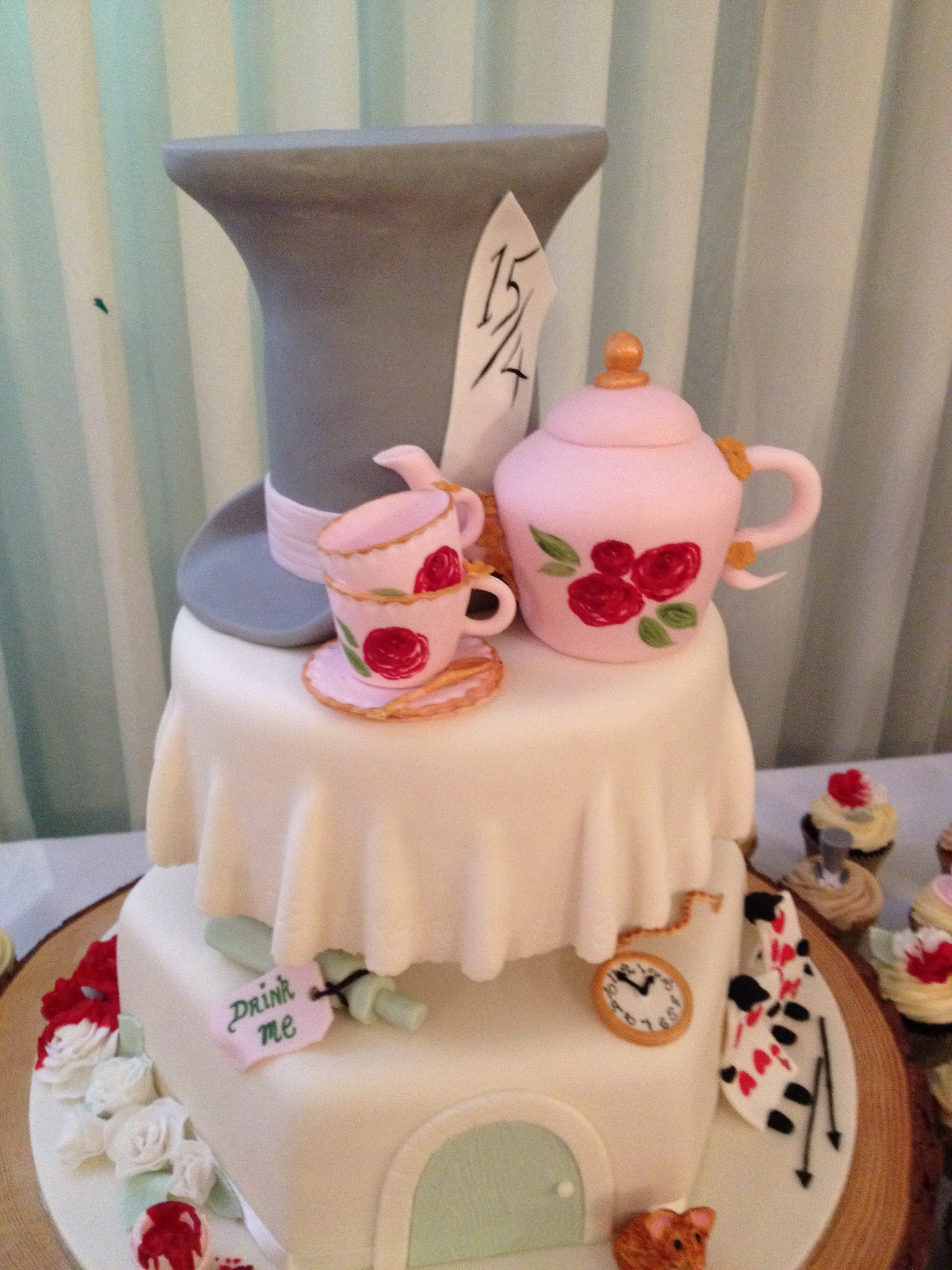 Mad Hatter Tea Party Topper