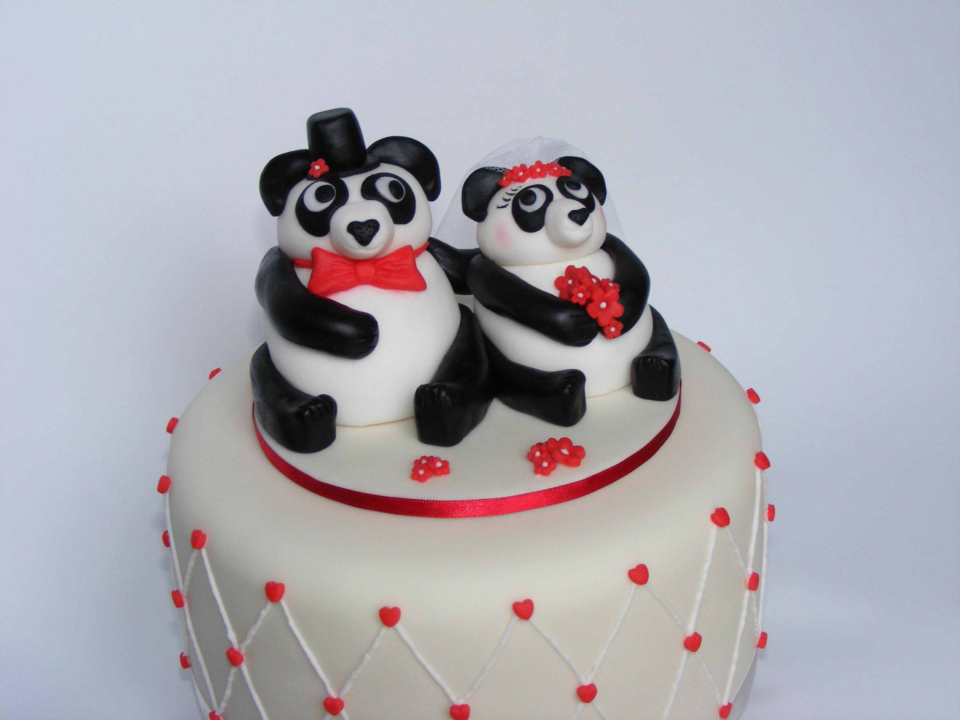 Pandas Cake Topper 6
