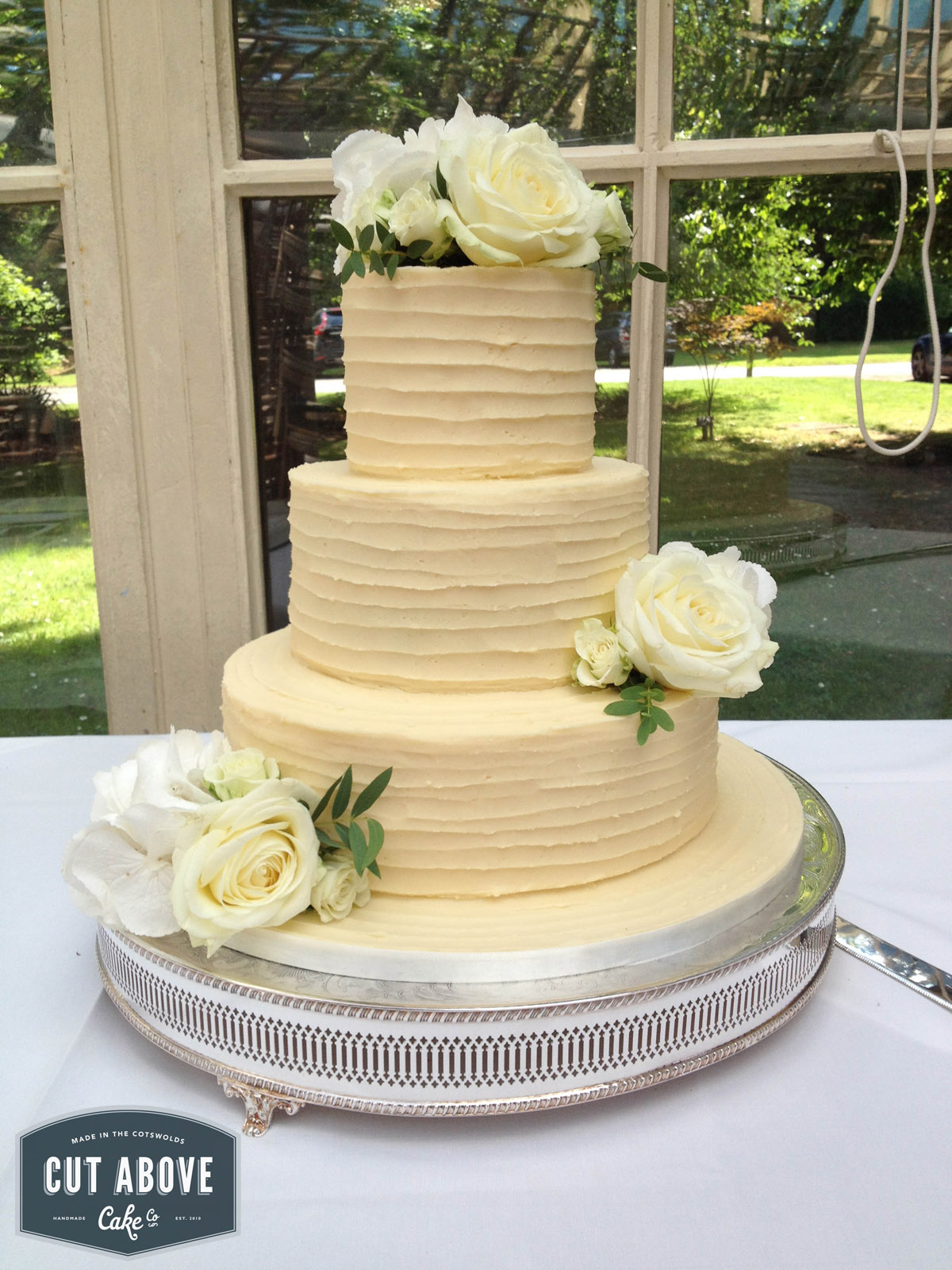 Naked Semi Naked Buttercream Wedding Cakes Cut Above Cake Co